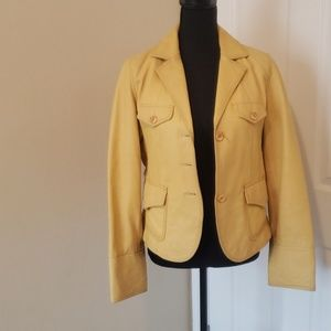 Butter leather Jacket